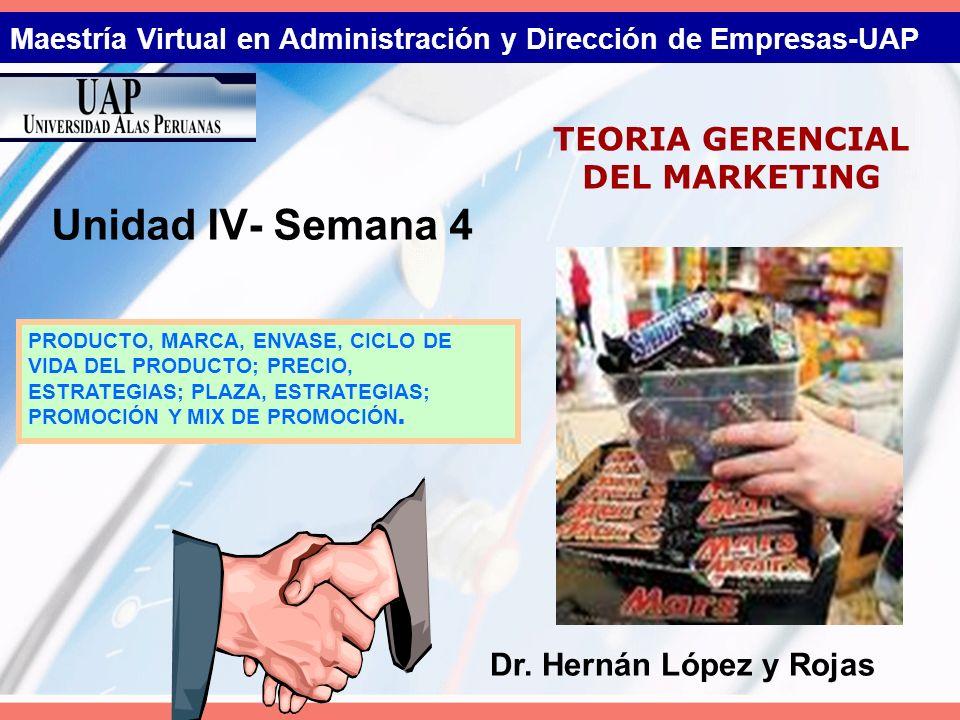 Maestría Virtual en Administración y Dirección de Empresas-UAP