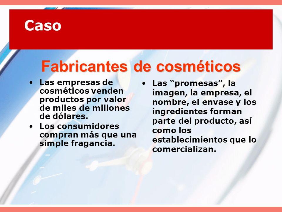 Fabricantes de cosméticos