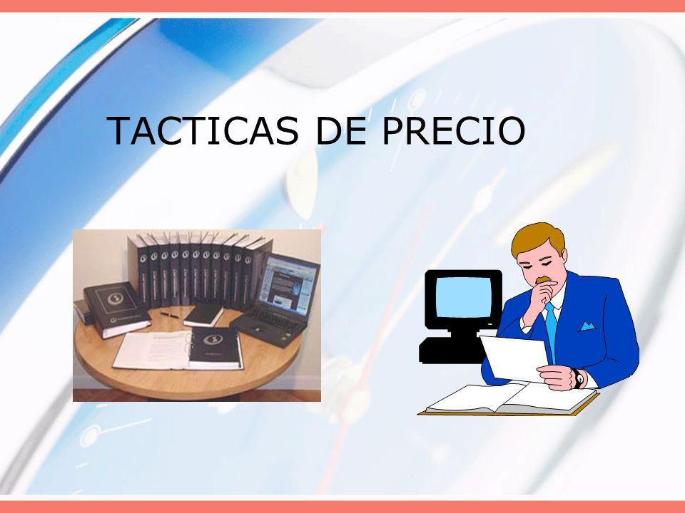TACTICAS DE PRECIO