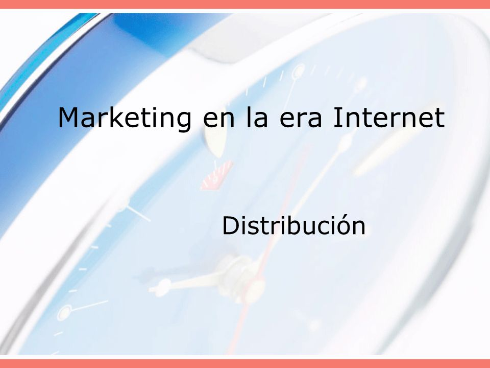 Marketing en la era Internet