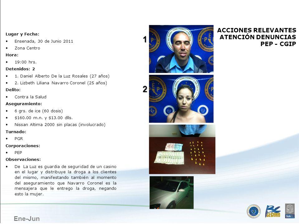 ENSENADA 1 2 ACCIONES RELEVANTES ATENCIÓN DENUNCIAS PEP - CGIP