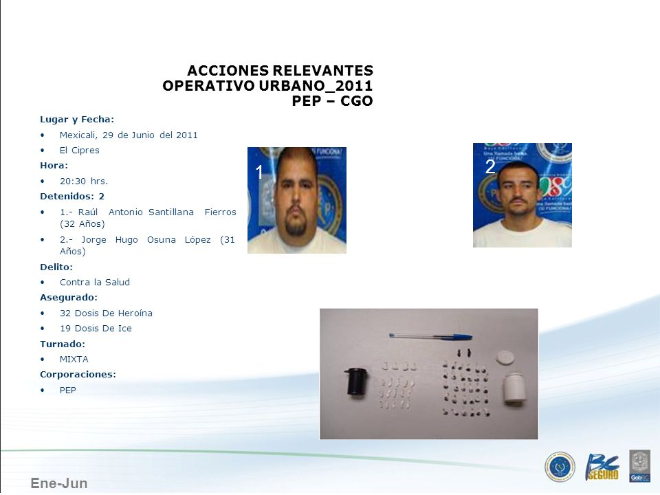 MEXICALI 2 1 ACCIONES RELEVANTES OPERATIVO URBANO_2011 PEP – CGO