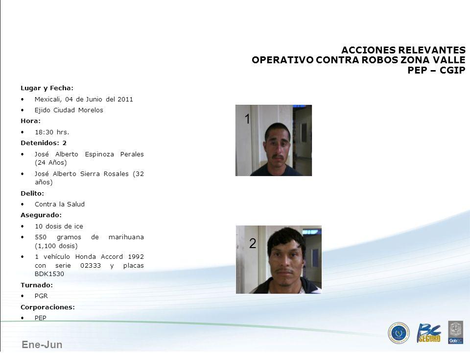 MEXICALI 1 2 ACCIONES RELEVANTES OPERATIVO CONTRA ROBOS ZONA VALLE