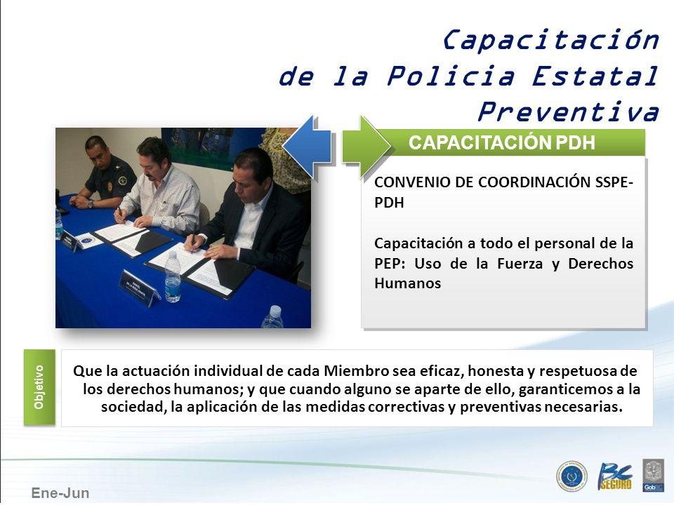 de la Policia Estatal Preventiva