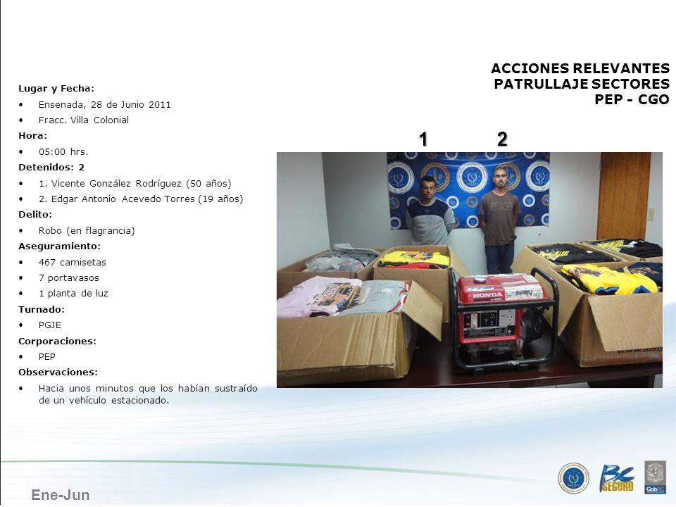 ENSENADA 1 2 ACCIONES RELEVANTES PATRULLAJE SECTORES PEP - CGO