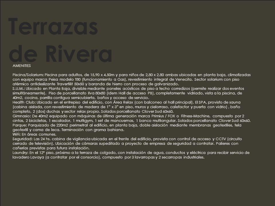 Terrazas de Rivera AMENITIES