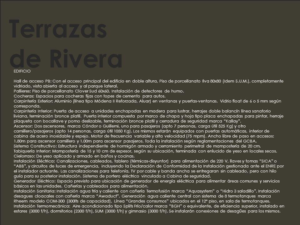 Terrazas de Rivera EDIFICIO