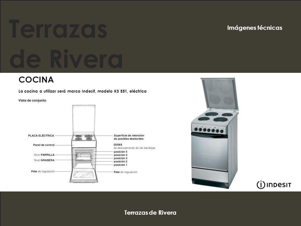 Terrazas de Rivera COCINA Imágenes técnicas Terrazas de Rivera