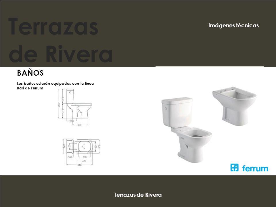 Terrazas de Rivera BAÑOS Imágenes técnicas Terrazas de Rivera