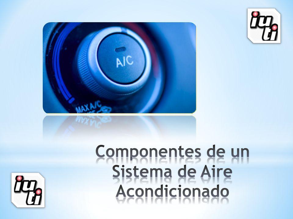 Componentes de un Sistema de Aire Acondicionado