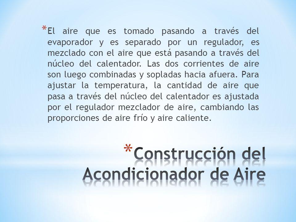 Construcción del Acondicionador de Aire
