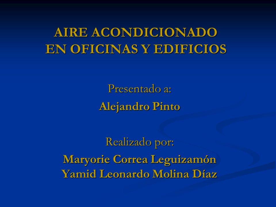 AIRE ACONDICIONADO EN OFICINAS Y EDIFICIOS
