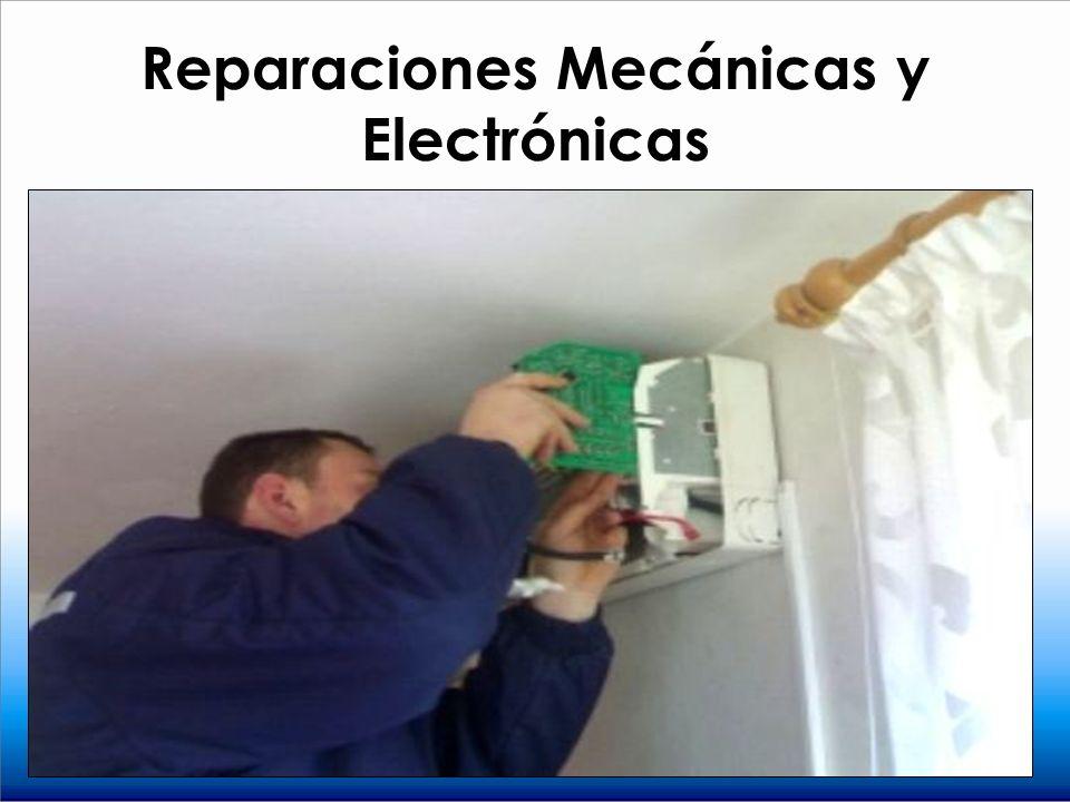 Reparaciones Mecánicas y Electrónicas