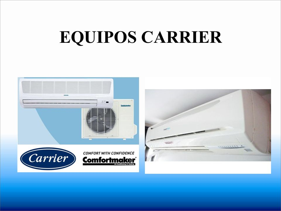 EQUIPOS CARRIER