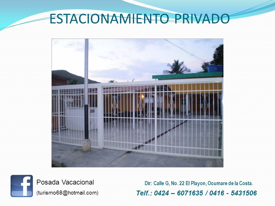 ESTACIONAMIENTO PRIVADO