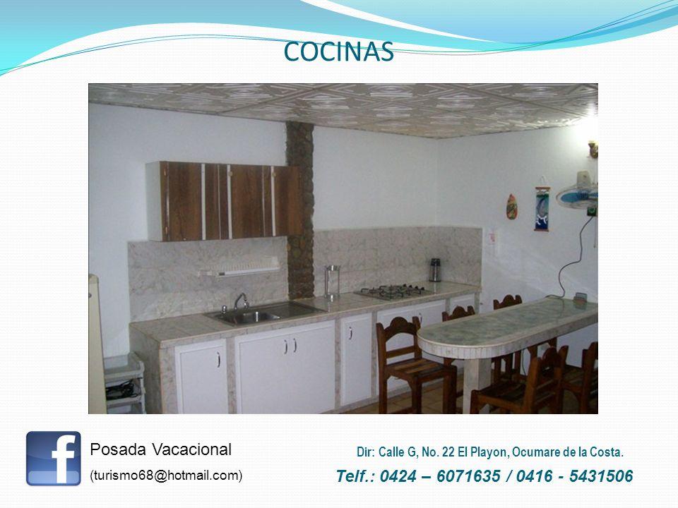 COCINAS Posada Vacacional Telf.: 0424 – 6071635 / 0416 - 5431506