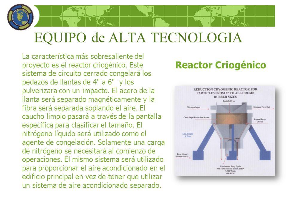 EQUIPO de ALTA TECNOLOGIA