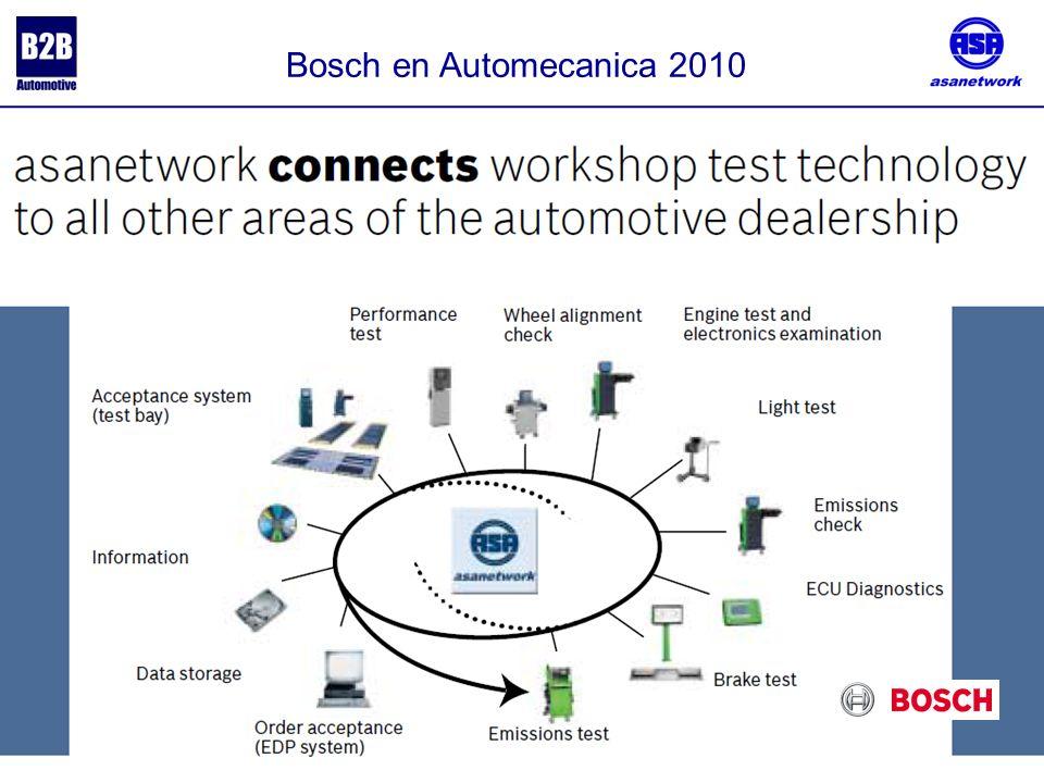 Bosch en Automecanica 2010 .