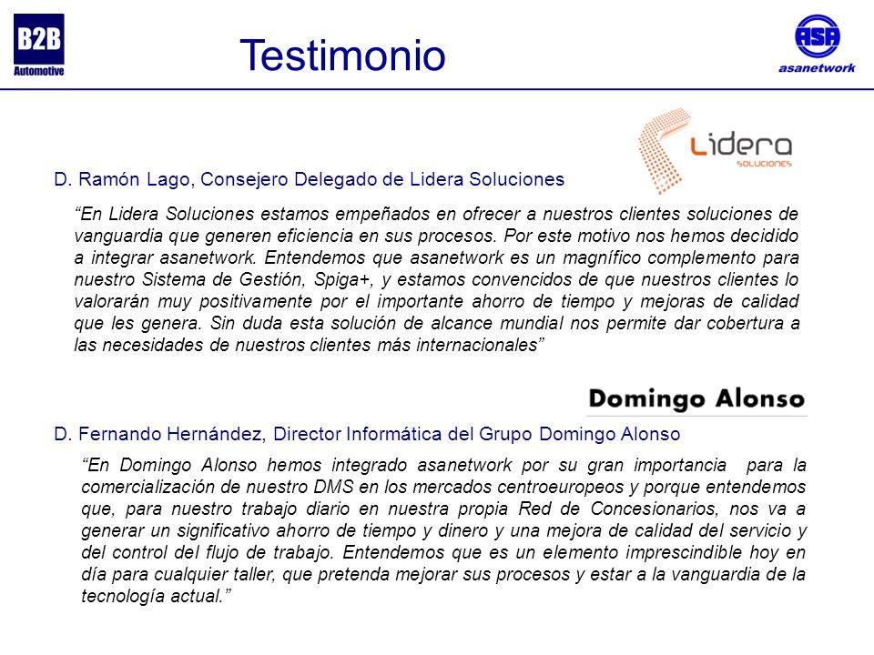 Testimonio D. Ramón Lago, Consejero Delegado de Lidera Soluciones