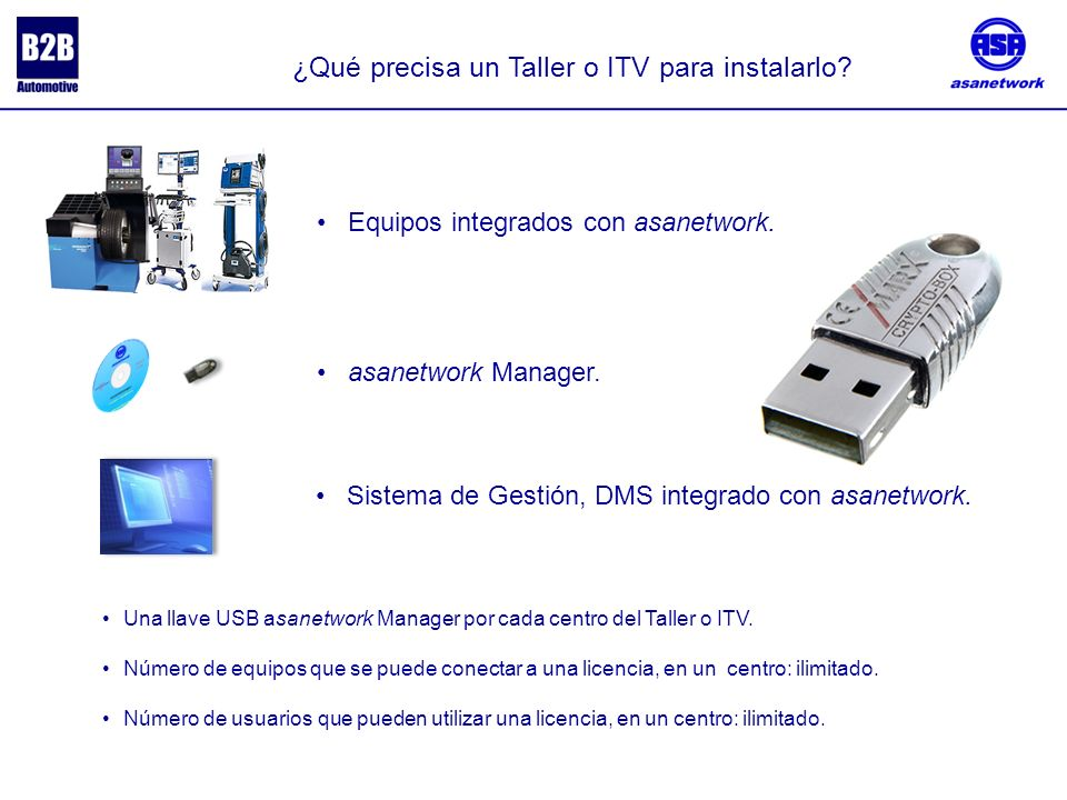 ¿Qué precisa un Taller o ITV para instalarlo