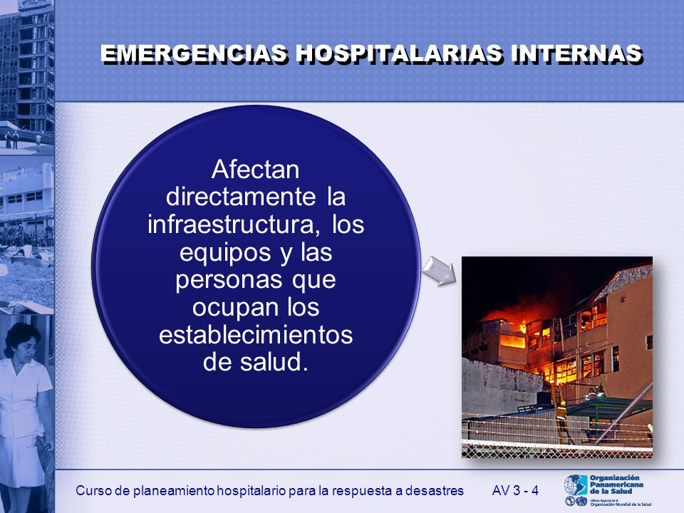 EMERGENCIAS HOSPITALARIAS INTERNAS