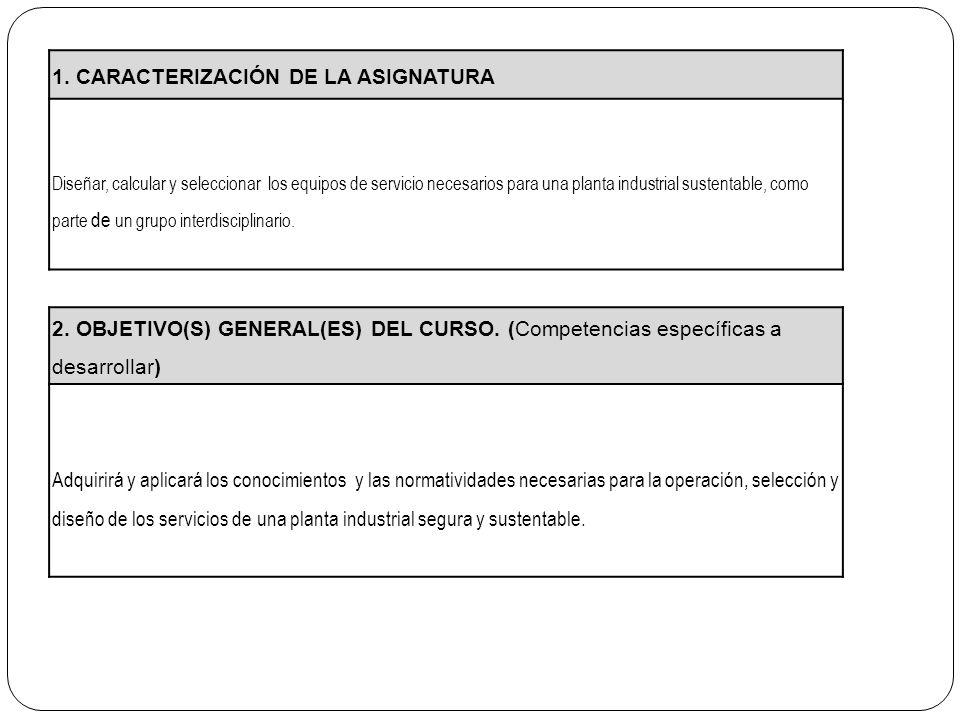 1. CARACTERIZACIÓN DE LA ASIGNATURA