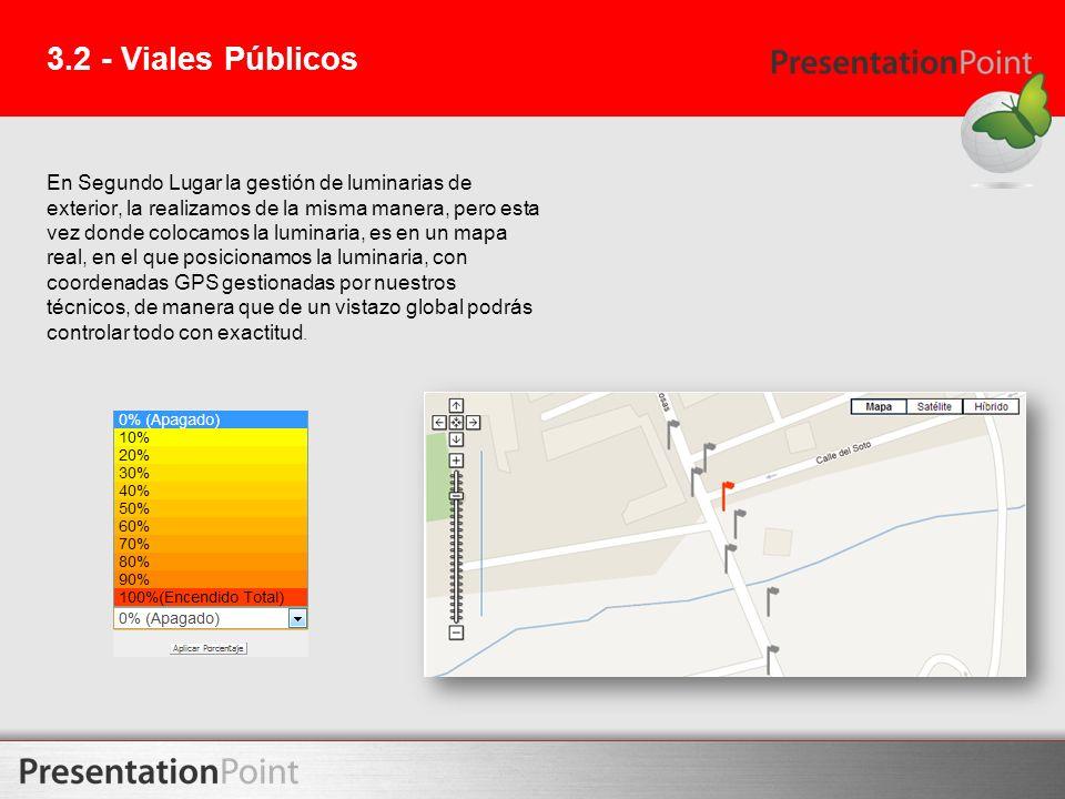 3.2 - Viales Públicos