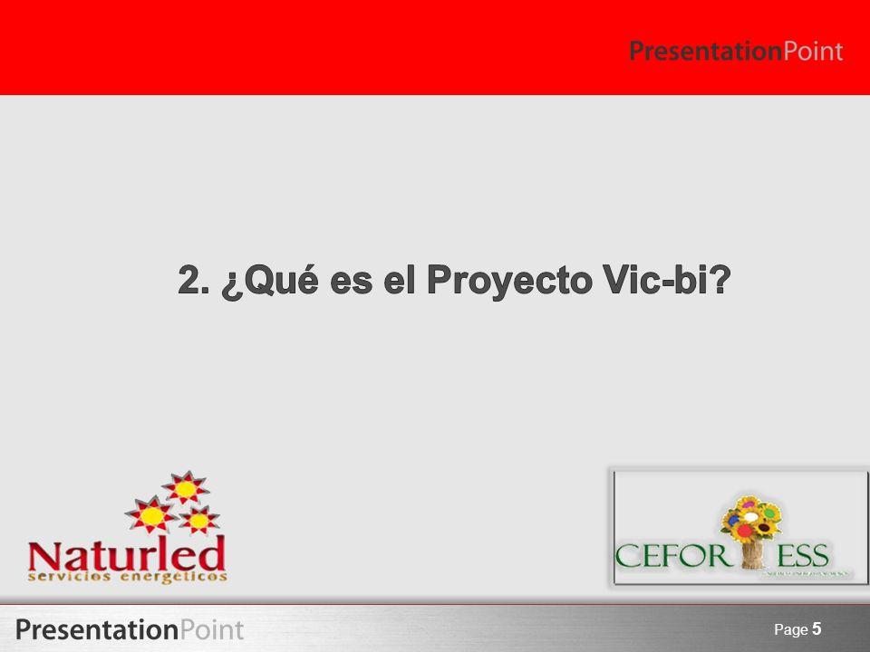 2. ¿Qué es el Proyecto Vic-bi