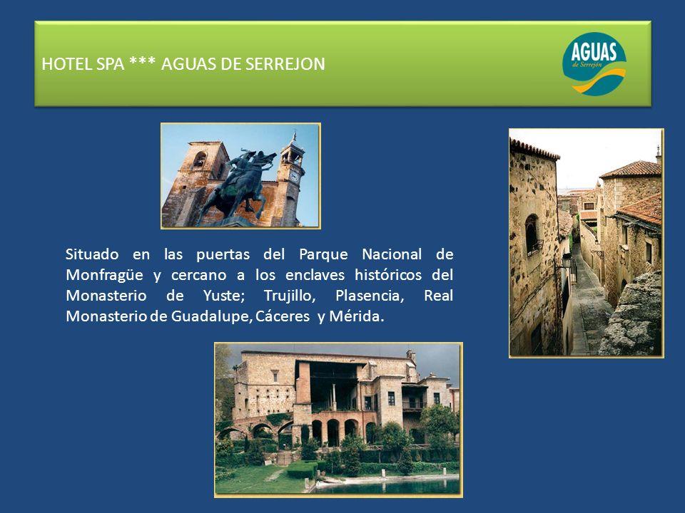 HOTEL SPA *** AGUAS DE SERREJON