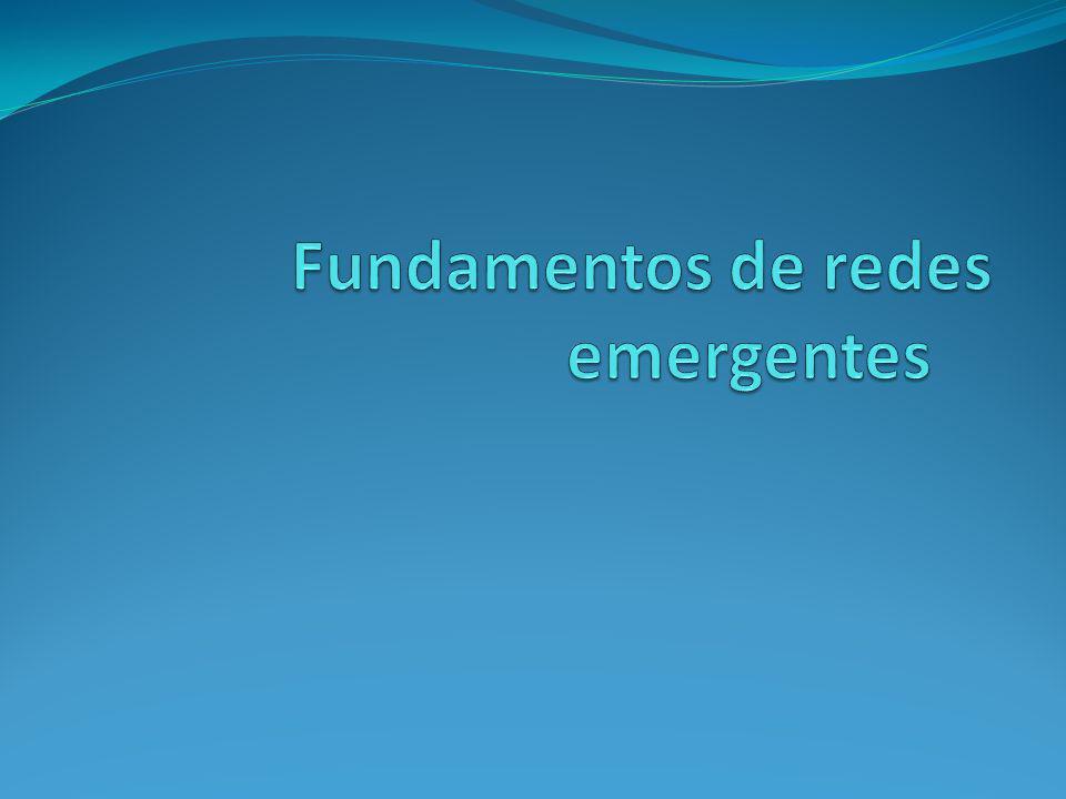 Fundamentos de redes emergentes