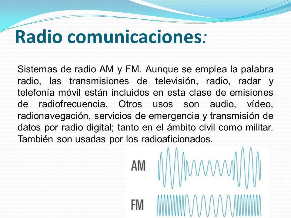Radio comunicaciones: