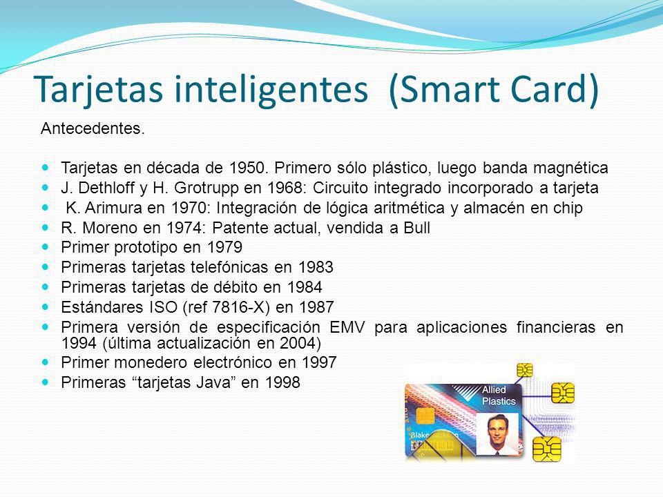Tarjetas inteligentes (Smart Card)