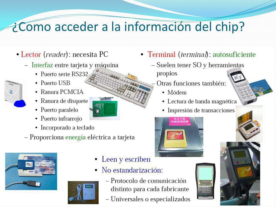 ¿Como acceder a la información del chip