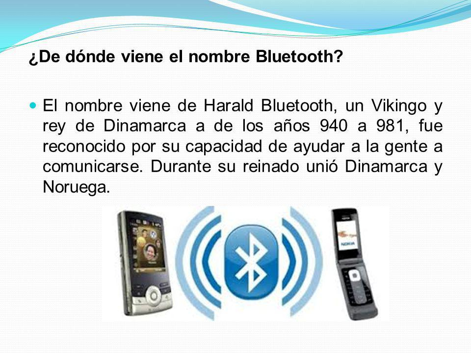 ¿De dónde viene el nombre Bluetooth