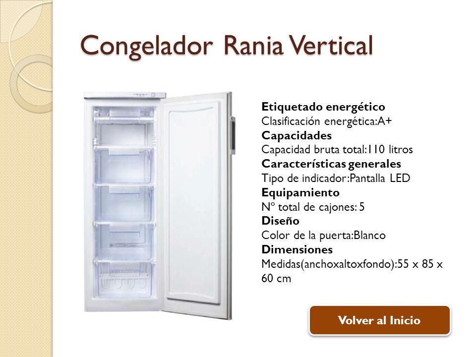 Congelador Rania Vertical