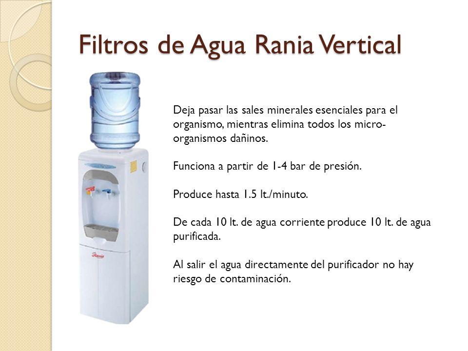 Filtros de Agua Rania Vertical