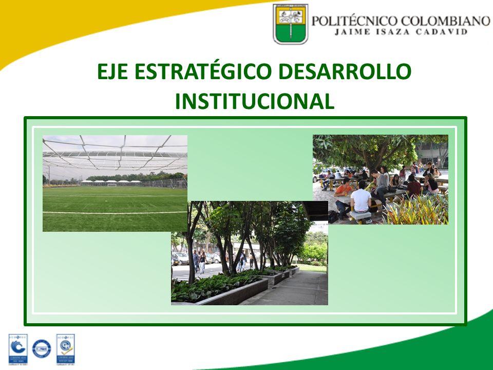 EJE ESTRATÉGICO DESARROLLO INSTITUCIONAL