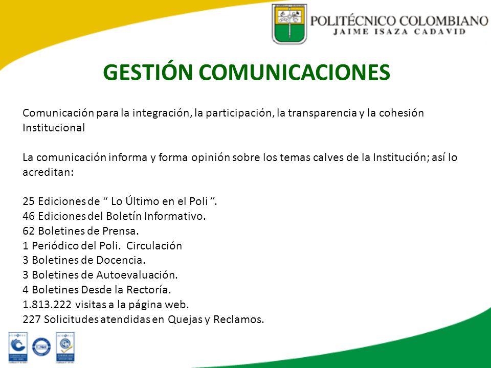GESTIÓN COMUNICACIONES