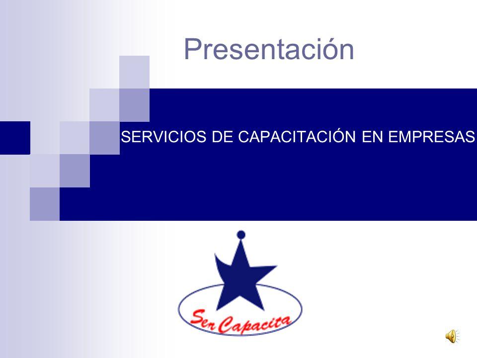 SERVICIOS DE CAPACITACIÓN EN EMPRESAS