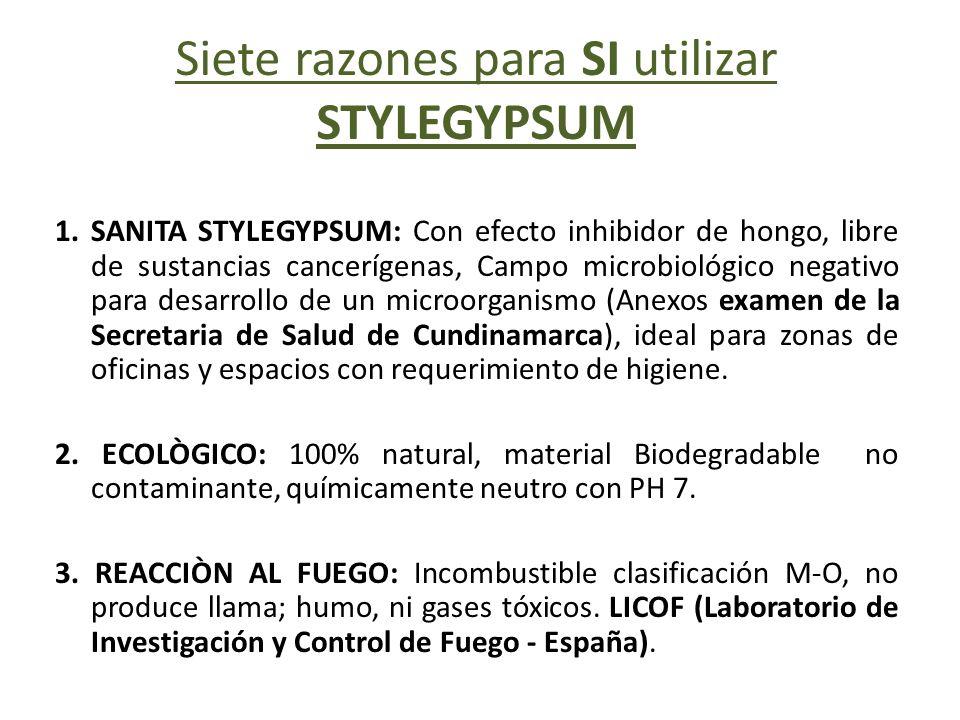 Siete razones para SI utilizar STYLEGYPSUM