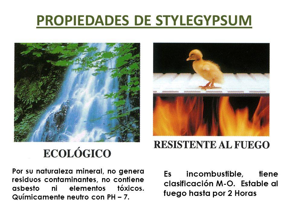 PROPIEDADES DE STYLEGYPSUM