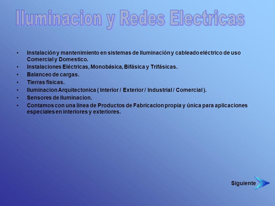 Iluminacion y Redes Electricas
