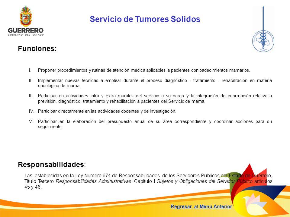 Servicio de Tumores Solidos