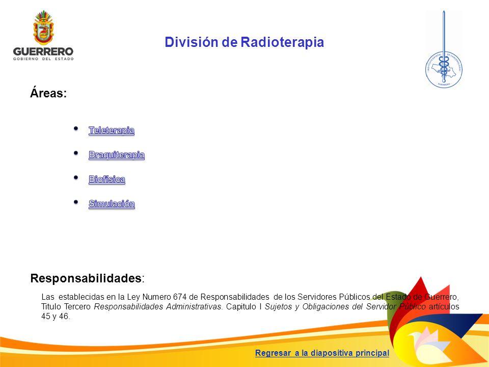 División de Radioterapia