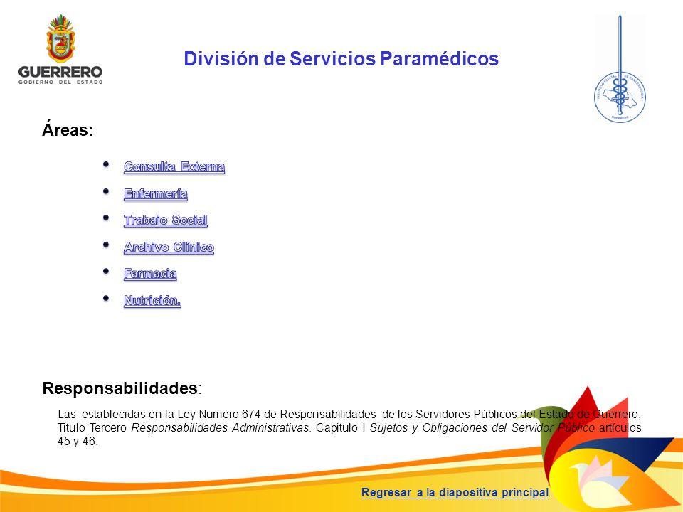 División de Servicios Paramédicos