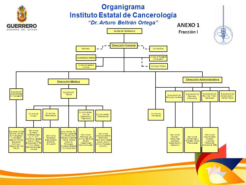 Instituto Estatal de Cancerología Dr. Arturo Beltrán Ortega