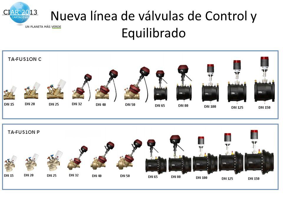 Nueva línea de válvulas de Control y Equilibrado