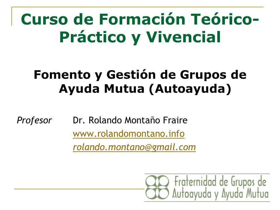 Curso de Formación Teórico-Práctico y Vivencial
