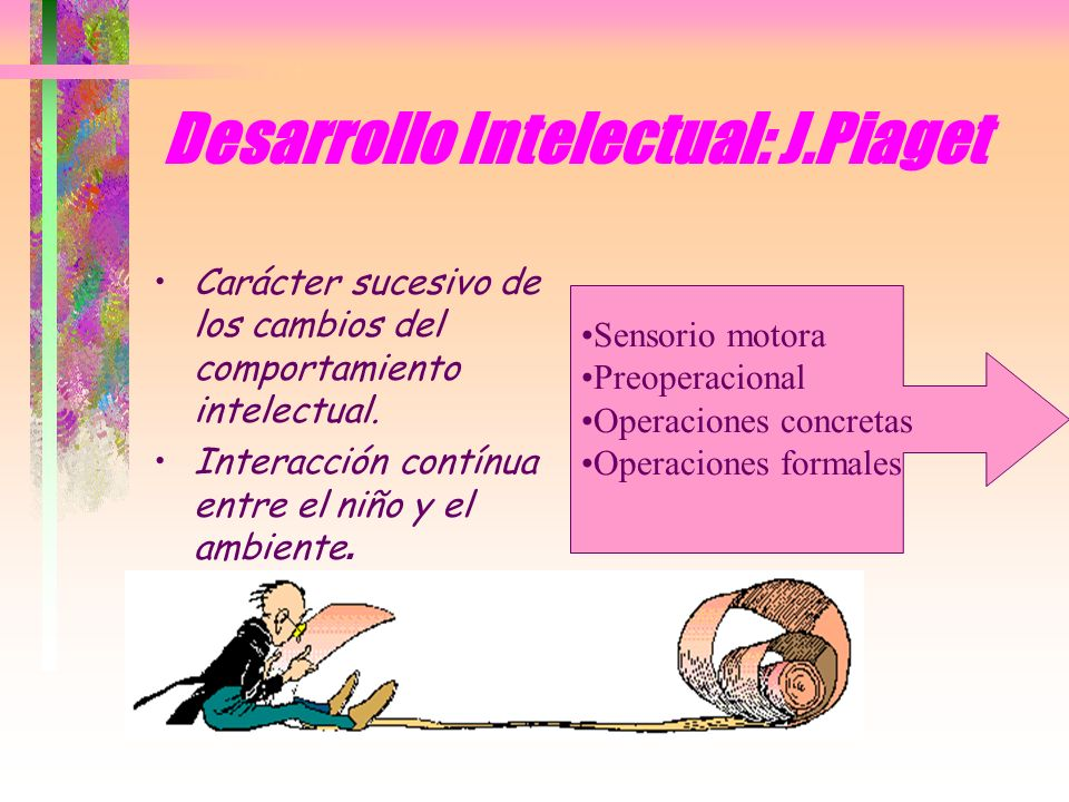 Desarrollo Intelectual: J.Piaget