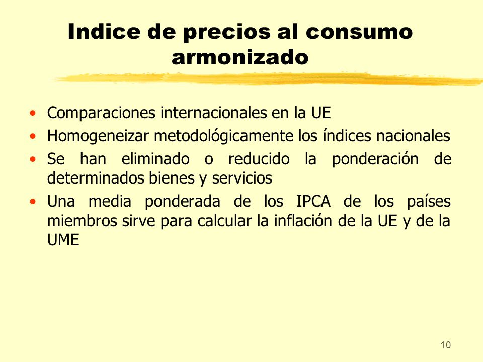 Indice de precios al consumo armonizado